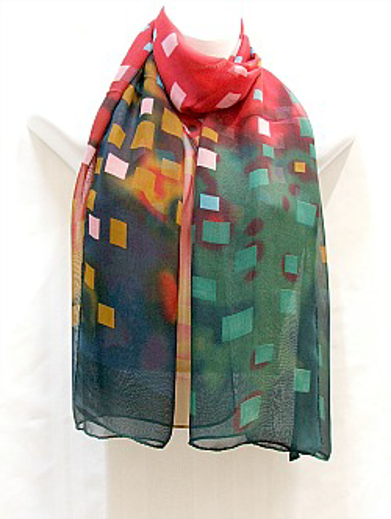 Red and Green Scarf