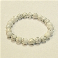 SBHO-Howlite StoneStretch Breacelet