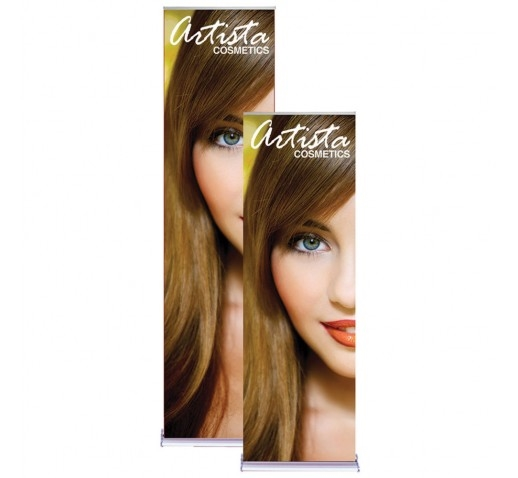 "Silverstep 24"" Stand with Printed Banner"