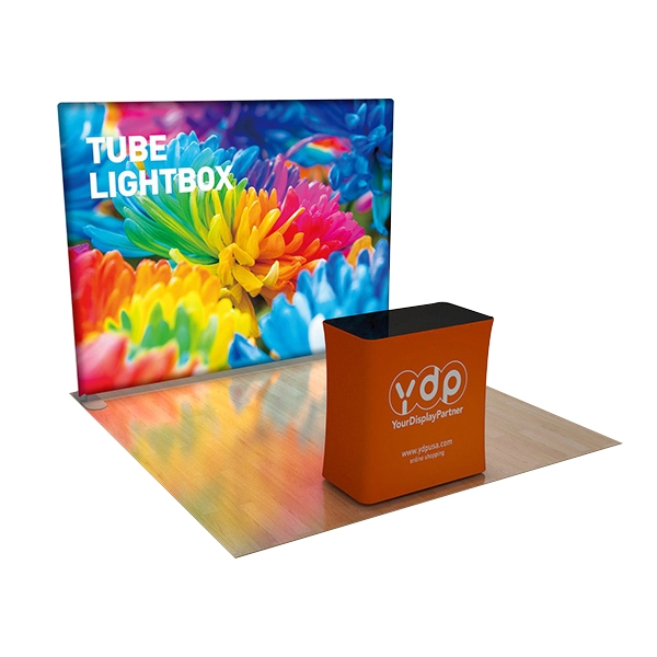 8×7.5ft EZ Tube Lightbox Graphic Package