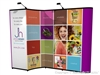 10x10 (10ft) Nomadic Instand Custom Pop Up Display with Backwall Monitor System