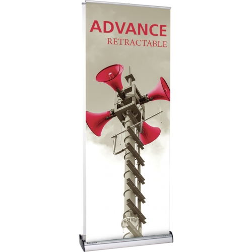 "Advance Banner Stand 31.50"" wide"