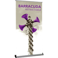 Barracuda 1200 Retractable Banner Stands