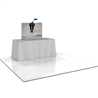 ​Coyote Mini Table Top PopUp Display Straight