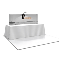 COYOTE 6' SHORT TABLE TOP POPUP DISPLAY