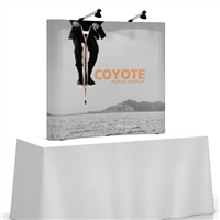 Coyote 6' Table Top Pop-Up Display (Straight)