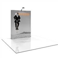 COYOTE 6 FT CURVED POP UP DISPLAY