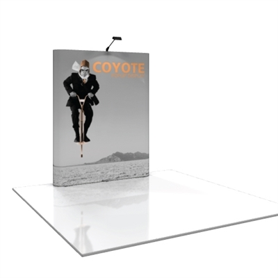 Coyote 6 ft Straight Pop Up Display