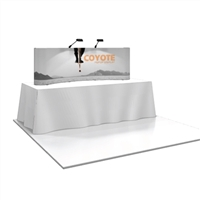 COYOTE 8' TABLE TOP POPUP DISPLAY (SHORT)