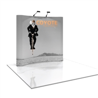 COYOTE 8 FT CURVED POP UP DISPLAY