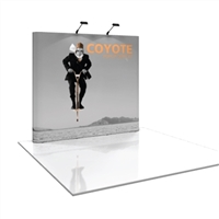 COYOTE 8 FT STRAIGHT POP-UP DISPLAY