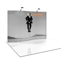 COYOTE 8 FT SERPENTINE POP UP DISPLAY