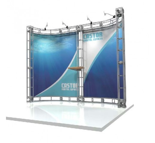 Castor 10' x 10' Orbital Display Truss