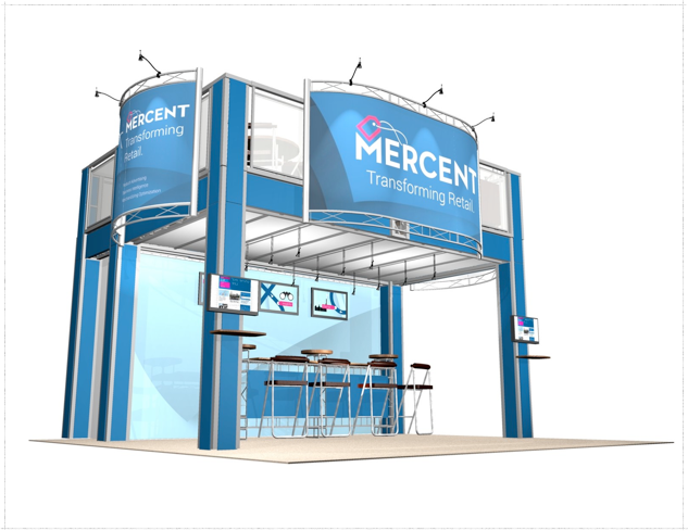 20 x 20 Mercent Double Deck Truss Display System