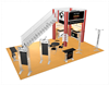 20 x 30 Tech Tangle Double Deck Truss Display System