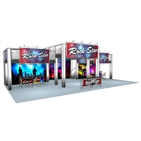 20 x 60 Rock Star Double Deck Truss Display System