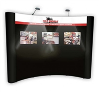 10' Econo Graphic Conversion Display Package, Non-Wrap Header Graphic