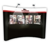 10' Econo Graphic Conversion Display Package, Wrap Header Graphic | Trade Show Display Depot
