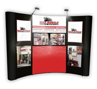 10' Pop Up with Center Graphics and Detachable Graphics