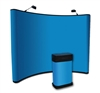 10ft Portable Fabric Pop Up Trade Show Display Booths