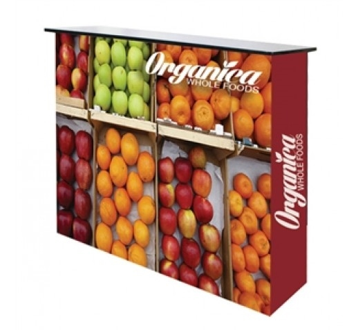 Easy Fabric Pop Up Counter Display - Frame, Graphics