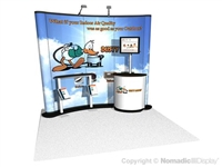 10X10 Instand Custom Portable Booth