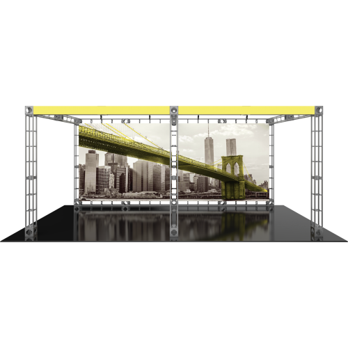 Luna 2 Orbital Express Truss 20ft Modular Exhibit | Trade Show Display Depot