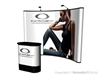10x10 Instand Full Graphic Curved Pop up