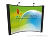 Nomadic Display Instand 10x10 Curved Pop Up Booth Display and Podium Banner
