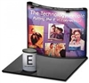 10' Popup Display with Convex Graphics