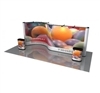​20' Pop Up Display, Two 10' Aluminum Frames