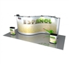 20' Serpentine Pop Up Display, S Frame