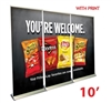10ft Pop Up Banner