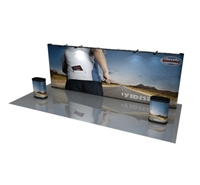 20' POP UP DISPLAY, 7 GRAPHIC PANELS