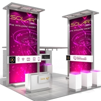 Solar A 20'x20' Modular Exhibit - Base Package