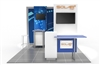 10x10 Solar E Modular Trade Show Display Base Package