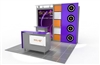 10x10 Solar G Modular Trade Show Booth Base Package