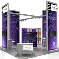 Solar G 20'x20' Modular Exhibit - Base Package