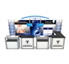 10'X10' HYBRID INLINE EXTRUSION TRADE SHOW DISPLAY, VK-1315