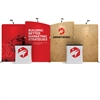 20ft WaveLine Media® Display - WLMEAAE Kit 02 Fabric Display