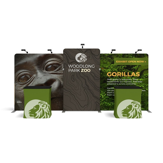 WaveLine Media® Display - WLMNKN Kit 02 Tension Fabric Display