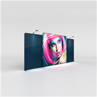 WaveLight Backlit Display - Kit 03 | Trade Show Display Depot