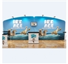 20ft WaveLine Tension Fabric Display