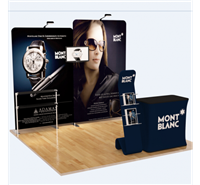 10' FLAT TENSION FABRIC DISPLAY PACKAGE 2