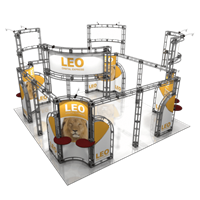 Leo 20X20 Orbital Express Trade Show Display