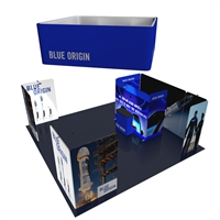 Leviathan 20X20 Tension Fabric Trade Show Exhibit Kit
