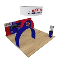 Maui 20x20 Arch Trade Show Exhibit Kit