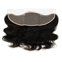 "100% Virgin Remy Human Hair 13""x4"" Lace Frontal Closure - Body Wave"