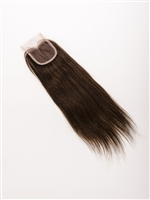 100% Lace Hand Tied Brazilian Remy Top Closure Yaki