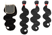 MURI SELECT - 3 Bundles + 4x4 Lace Closure - Body Wave